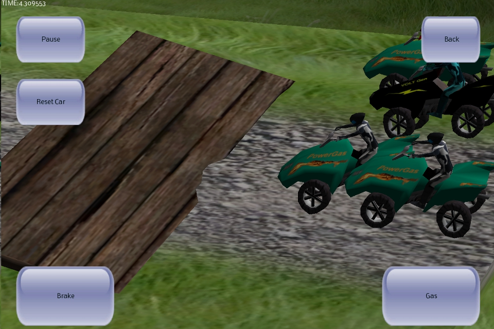 Screenshot 3D ATV Racer Free