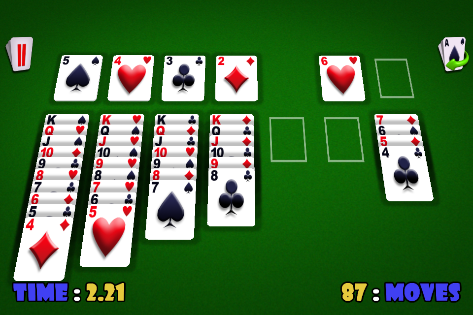 Screenshot Solitaire 3D